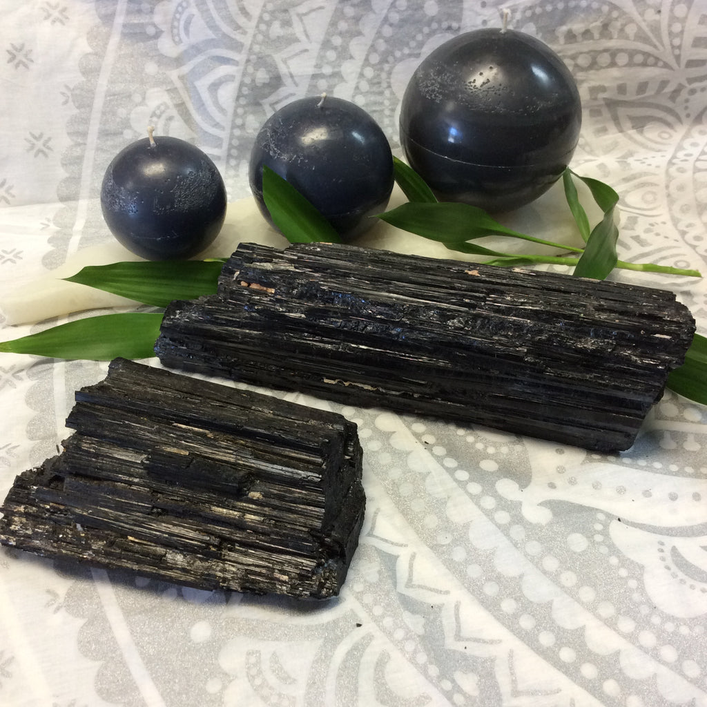 Tourmaline Logs for Grounding - Goddess I AM