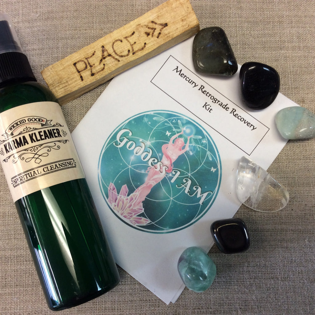 Mercury Retrograde Recovery Kit - Goddess I AM