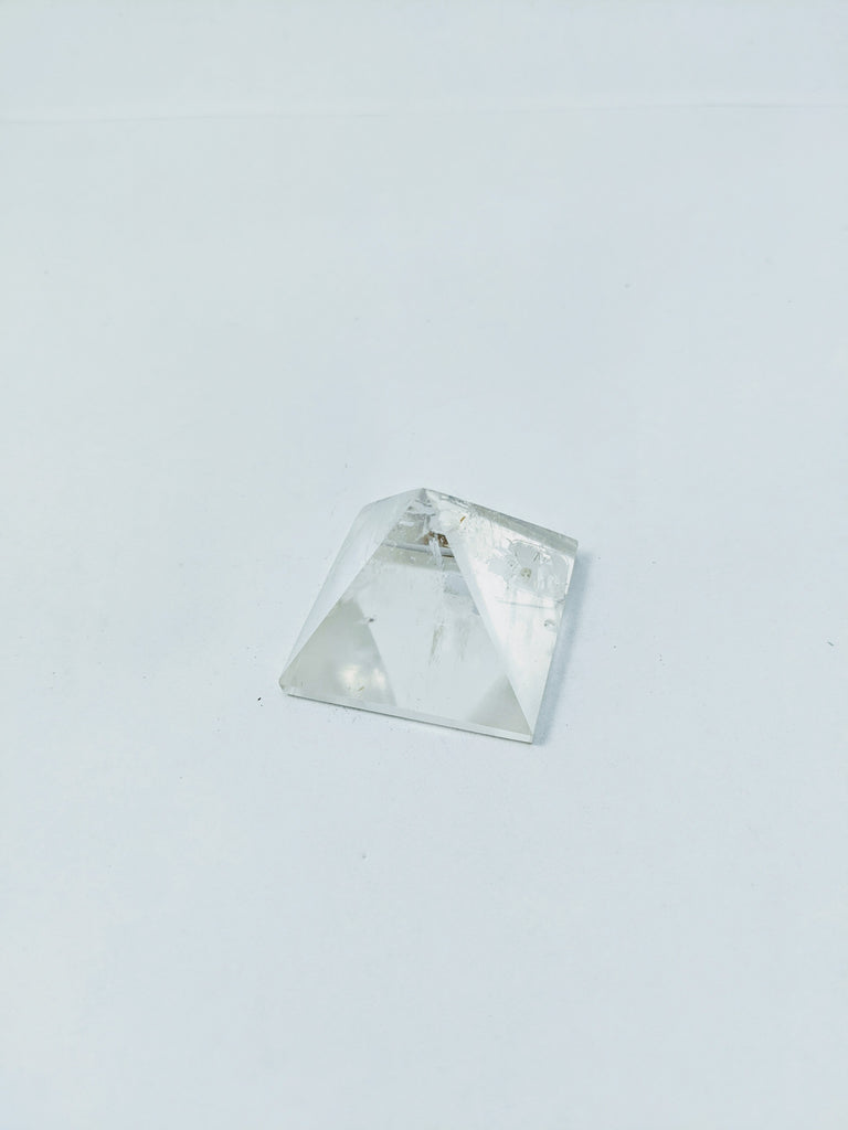 Small Clear Quartz Pyramid - Goddess I AM
