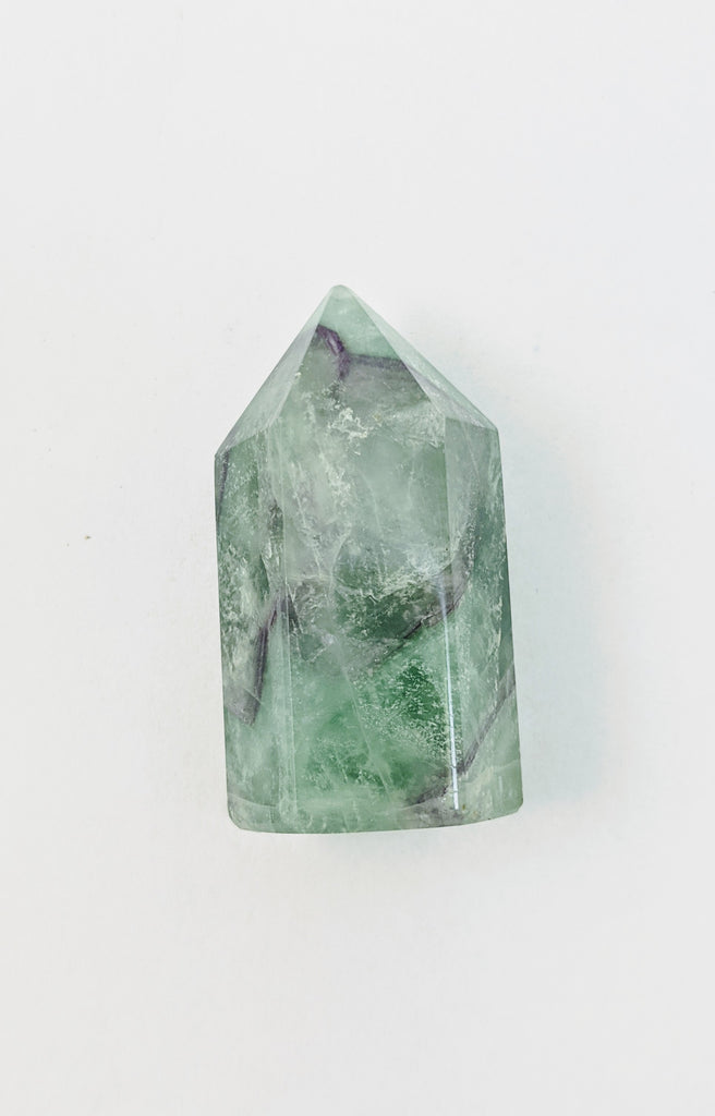 Small Fluorite Tower - Goddess I AM
