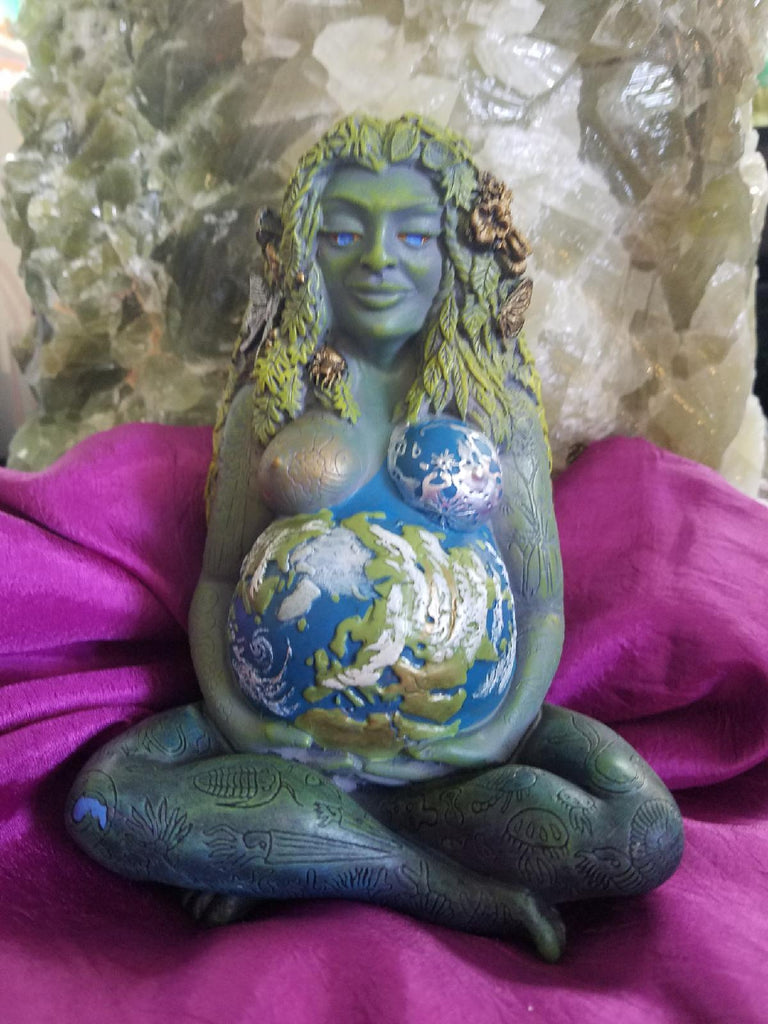Gaia Resin Statue - Goddess I AM