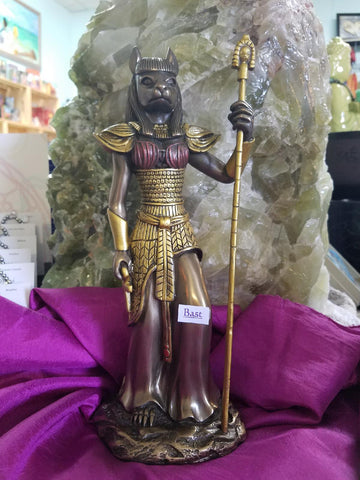 Bast Cast Bronze Statue - Goddess I AM