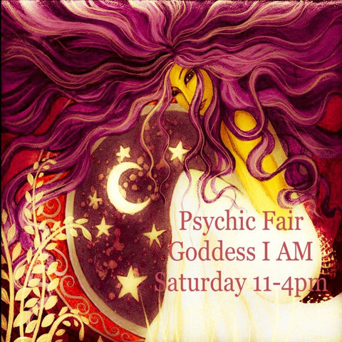 Pscyhic Fair 3rd Saturdays 11am-4pm