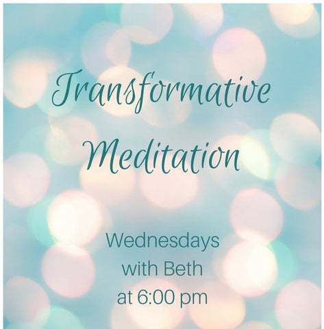 Transformative Meditation Weds at 6:00 - Goddess I AM