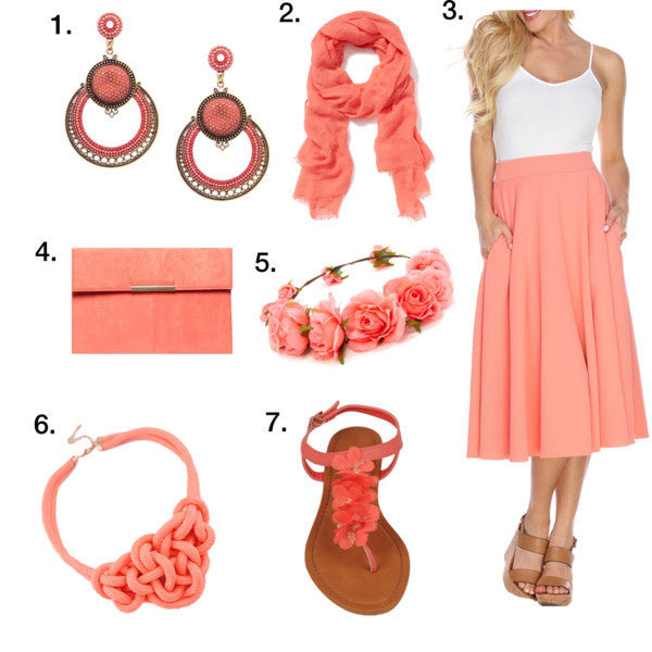 Fashion Friday - Coral Crush!