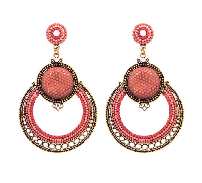 Corallia Statement Earrings - Navya