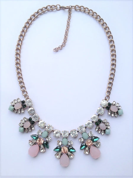 Iva Multicolor Statement Necklace - Navya