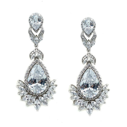 Scarlett Crystal Earrings