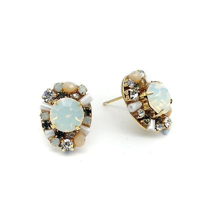 Shine Bright Stud Earrings - Navya