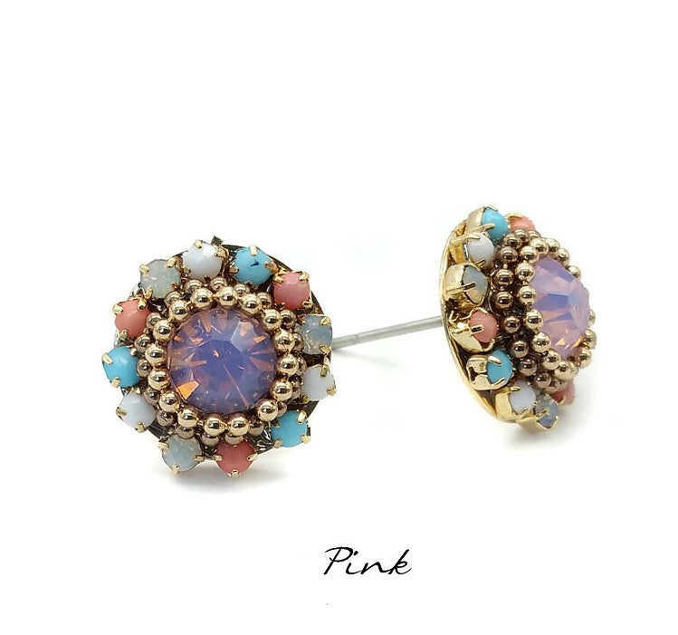 Bloom Stud Earrings - Navya
