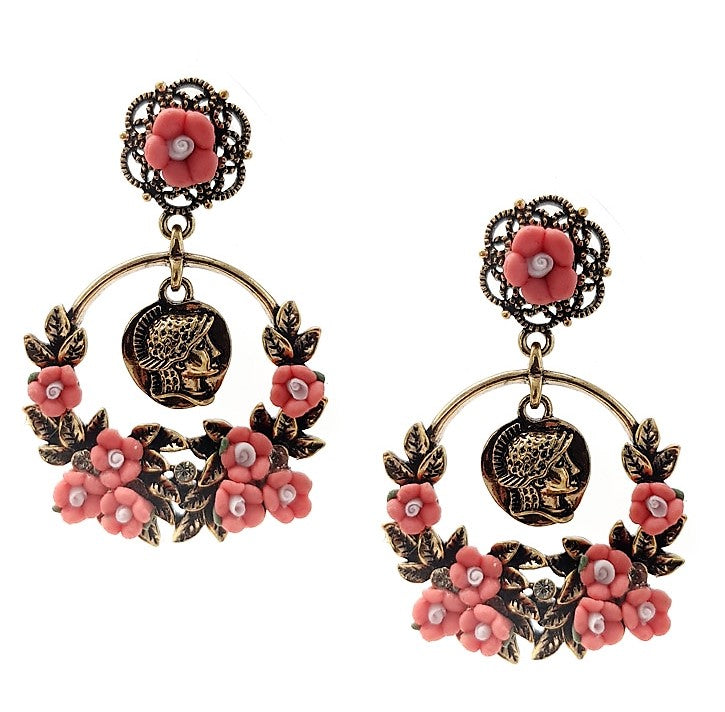 Hera Empress Statement Earrings - Navya