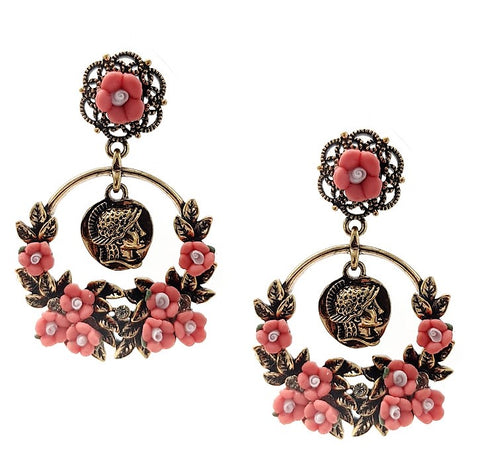 Hera Empress Statement Earring - Navya