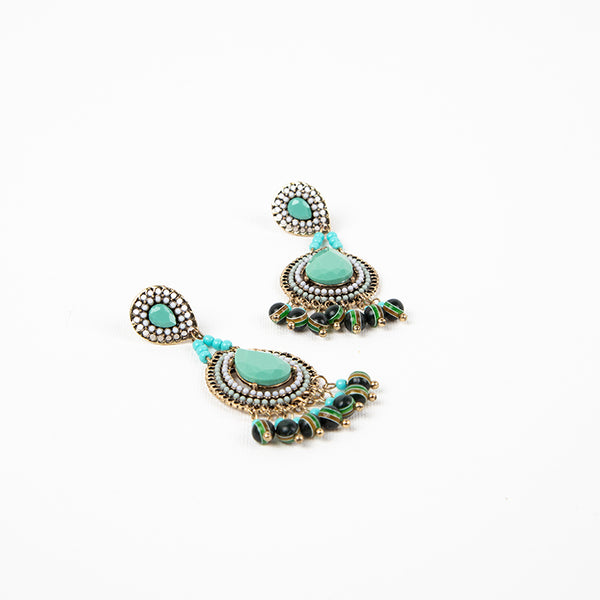 Mae Teardrop Boho Earrings - Navya