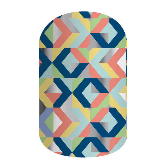 Nail Wrap - Abstract - Navya