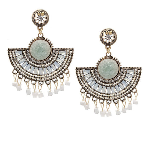 Aida Love Statement Earrings - Navya