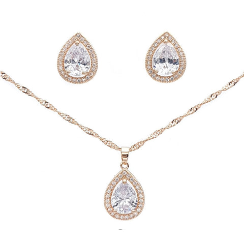 Alisse Necklace Earrings Set