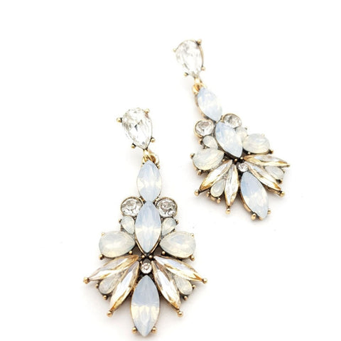 Alison Statement Earrings - Navya