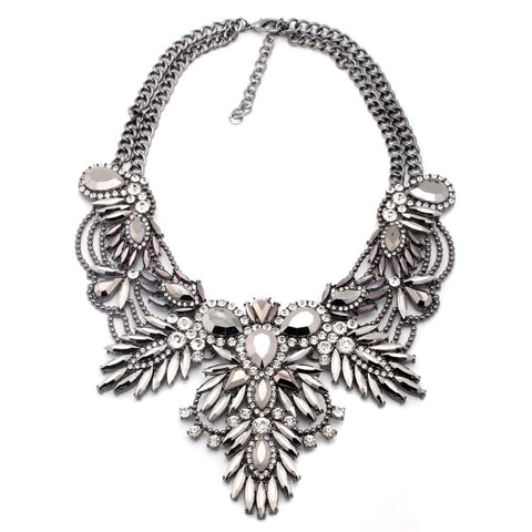 PRE ORDER - Angelic Dream Antique Statement Necklace - Navya