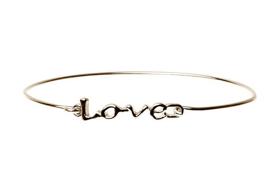 Love Bracelet Gold Colour - Navya
