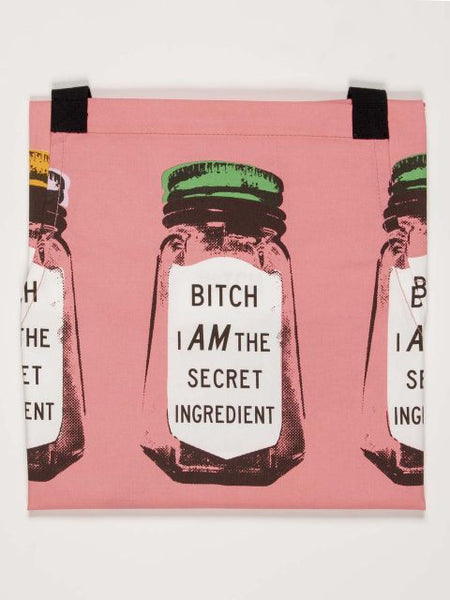 B*** I am the Secret Ingredient Apron - Blue Q