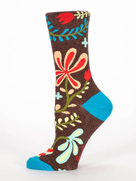 Women's Crew socks - Dang It All To Heck - BlueQ - Navya