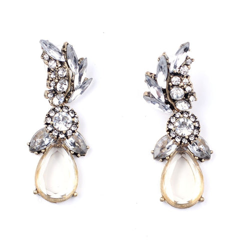 Glam Crystal Statement Earring