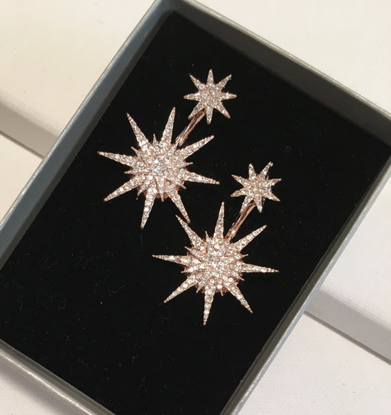 Star Dreamer Stud Earrings - Navya