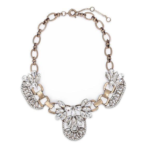 Lyala Crystal Statement Necklace - Navya