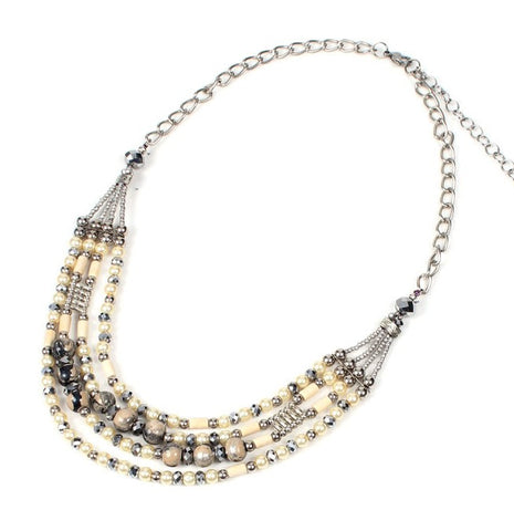 Papaya Temptation Mocha Necklace - Navya