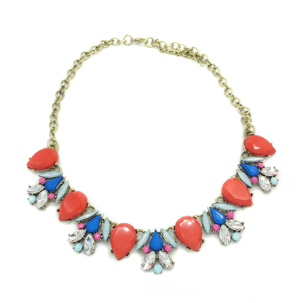 Anastasia Statement Necklace - Navya