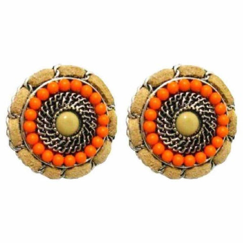 Orange Blossom Stud Earrings - Navya