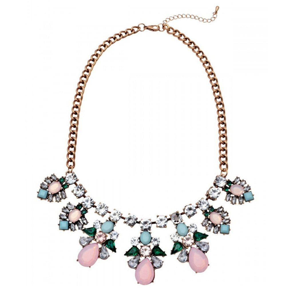 Iva Multicolor Statement Necklace