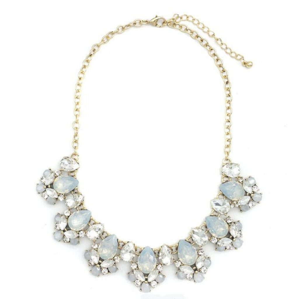Opal Shine and Sparkle Statement Necklace