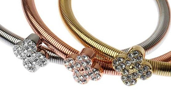 Four Leaf Bling Bracelets - Navya
