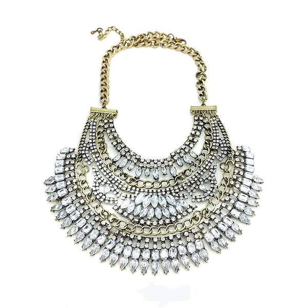 Bold Vintage Statement Necklace