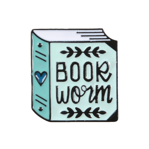 Bookworm Brooch - Navya