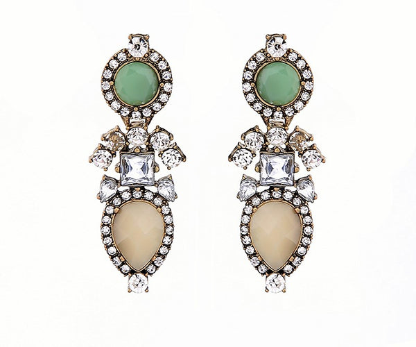 Color Love Statement Earrings - Navya