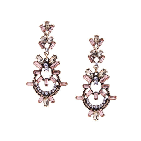Daniella Glam Statement Earrings - Navya
