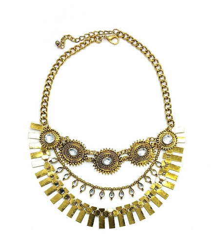 Dia Antique Statement Necklace - Navya
