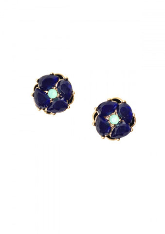 Floral Bloom Stud Earrings - Navya
