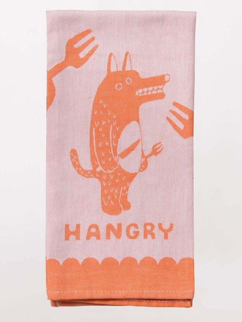 Hangry Kitchen Dish Towel - Blue Q - Navya