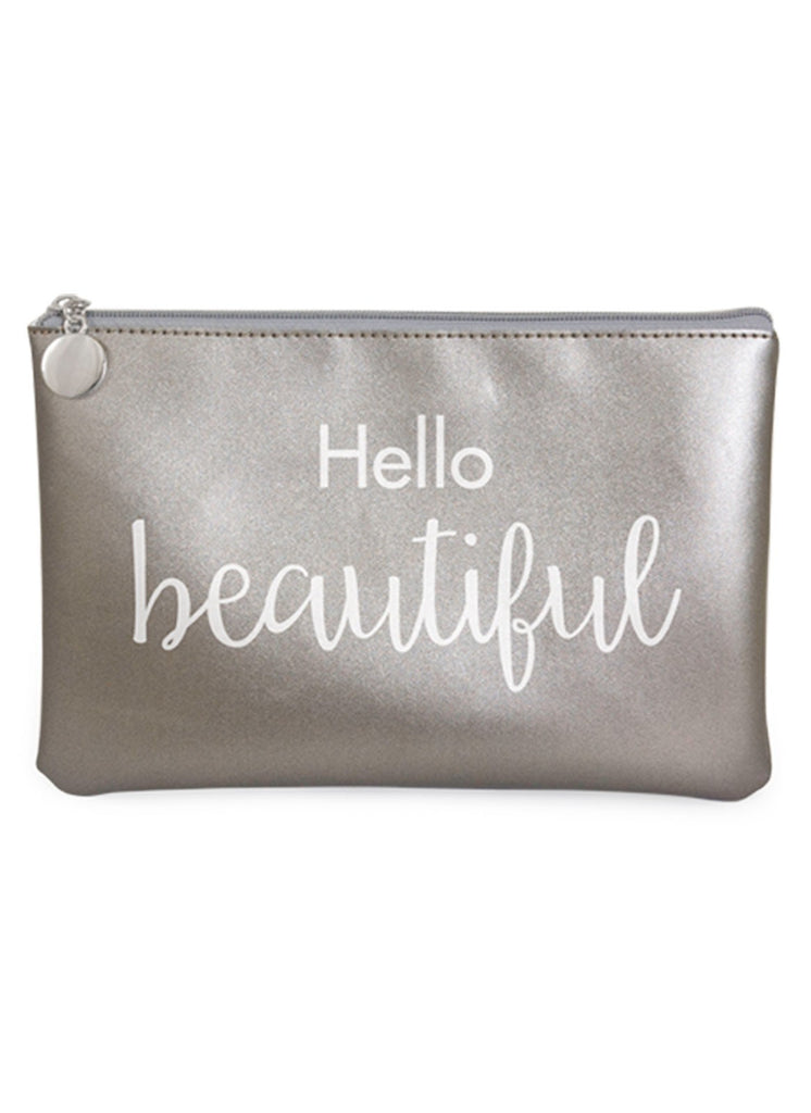 Hello Beautiful Cosmetic Bag - Navya