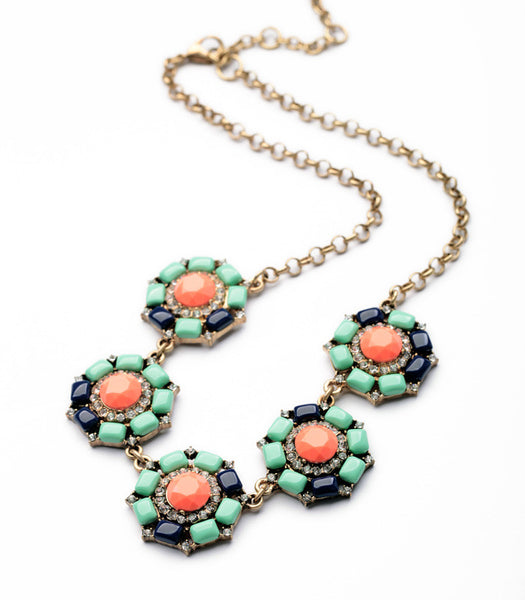 Anemone Statement Necklace featured shot 2