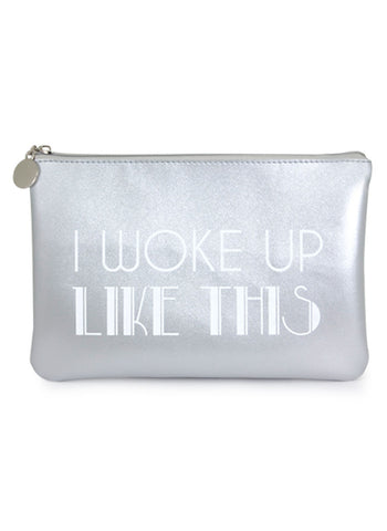 I Woke Up like This Cosmetic Bag - Navya