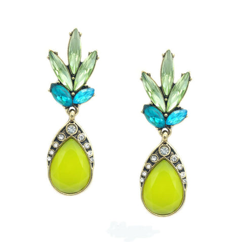 Annabella Drop Fashion Statement Earrings - Navya