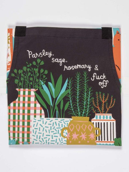 Parsley, Sage, Rosemary Apron - Blue Q