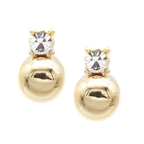 Pearl Chloe Stud Earrings