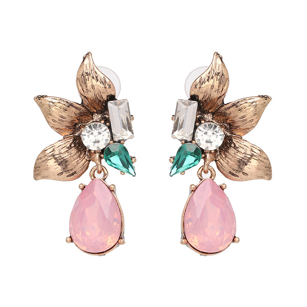 Jeanne Floret Statement Earrings - Navya