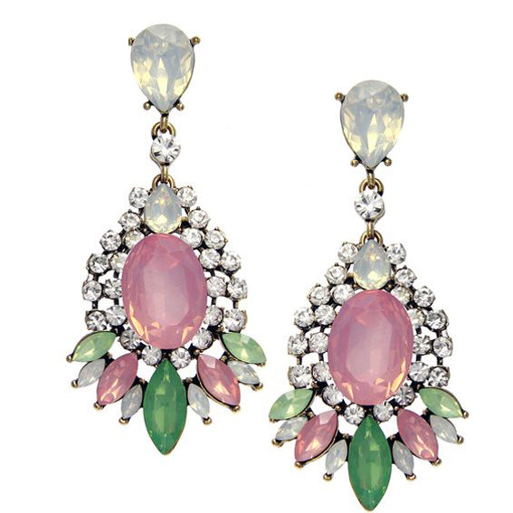 Pretty Pastel Statement Earrings - Navya