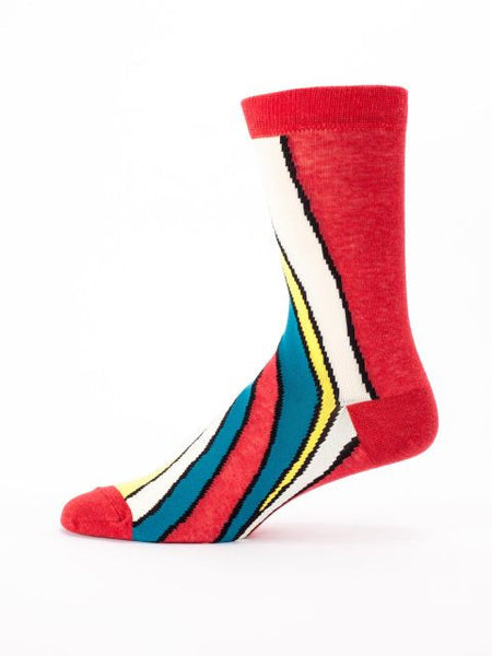 Men's Crew Socks -Take No Shit, Give No Fucks - Blue Q - Navya